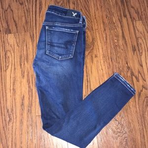 American eagle super stretch jeans